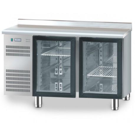 Stół chłodniczy z drzwiami przeszklonymi DM-S-94005 DORA METAL