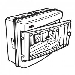 Przepustnica automatyczna i regulator temperatury PSA01 FRICO